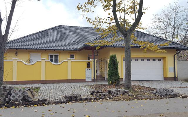Békéscsaba családi ház szellőzés